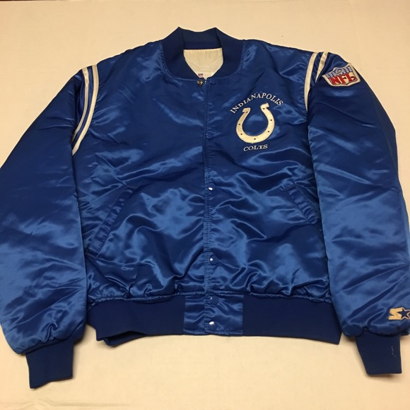 sports shoes f5405 e363a 80s Starter nfl Indianapolis colts satin jacket